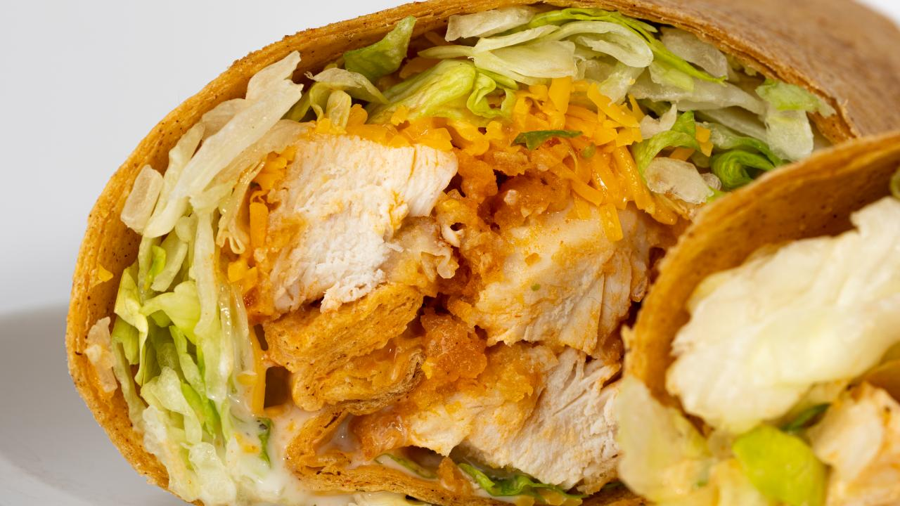 Buffalo Chicken Ranch Wrap: Limited Time Offer (March 16 - 26)